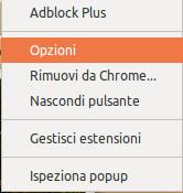 adblock plus opzioni