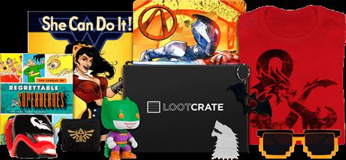 loot crate contenuto