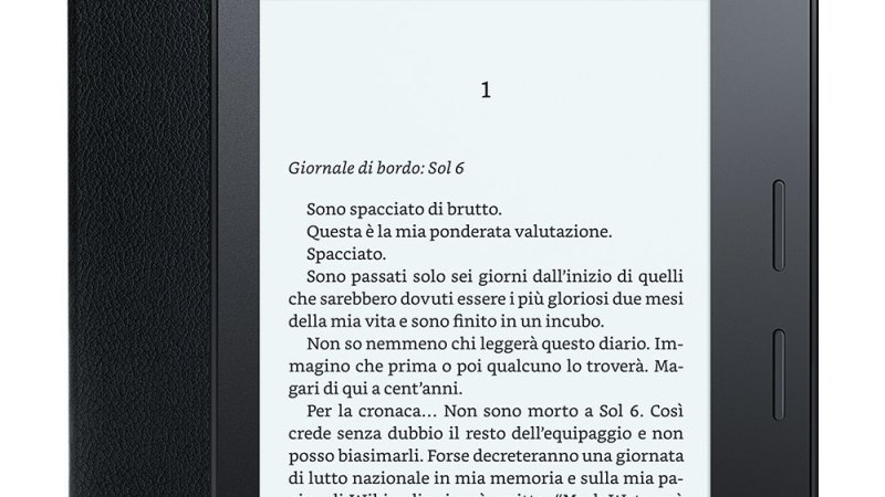 Amazon presenta il nuovo Kindle Oasis