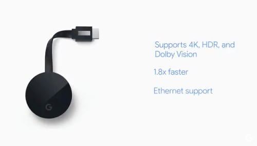 google chromecast ultra specifiche