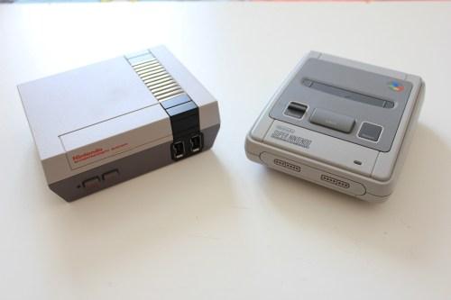 SNES Classic Mini e NES Mini