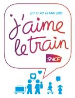 Logo J'aime le train 2009