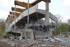 Destruction du stade Grimonprez Jooris