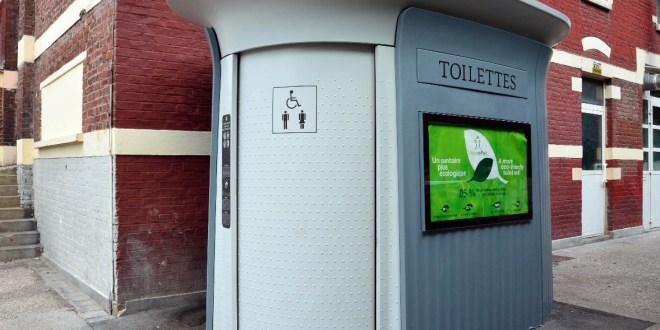 Toilettes Lille JCDecaux - WC