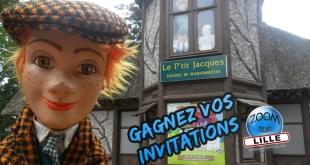 """Gagnez vos places pour le théâtre de marionnettes """"Le P'tit Jacques"""" à Lille"""