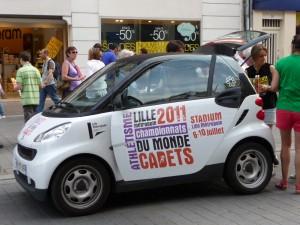 Parade Athlétisme 2011