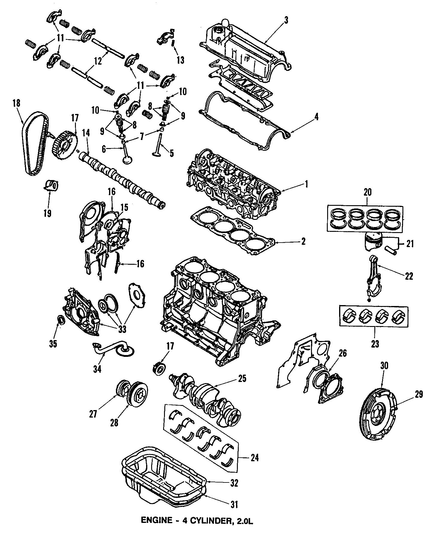 Mazda Engine Timing Crankshaft Sprocket Pulley