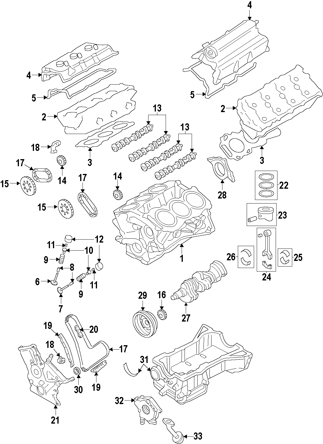 Mazda Cx 9 Engine Variable Valve Timing Vvt Solenoid