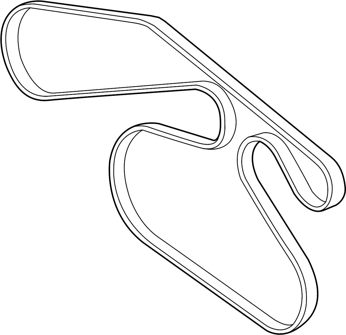 Mazda 6 Serpentine Belt Liter Pulleys Belts