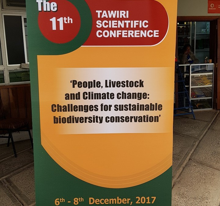 An account of the 11th TAWIRI conference featuring presentations from our team