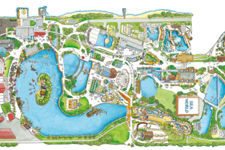 Map of seaworld gold coast full hd maps locations another world maps of gold coast theme parks dreamworld sea world with map sea world map seaworld gold coast park sea world compare cheap car hire rates sea world map gumiabroncs Gallery