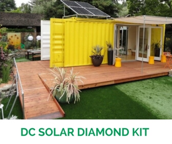 200 W DC Solar Diamond Kit