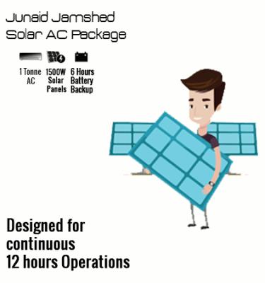Junaid Jamshaid Solar AC