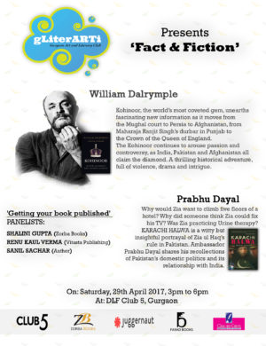 GLiterARTi '17, Inviting Prabhu Dayal and William Dalrymple