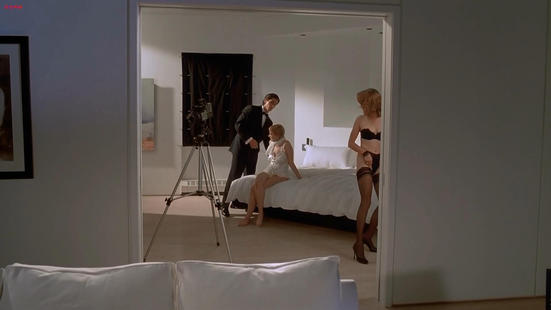 Cara Seymour and Krista Sutton all naked sex games - American Psycho HD1080p