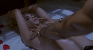 Aimee Leigh nude but covered in Hellraiser III (1992) HD 1080p BluRay (6)