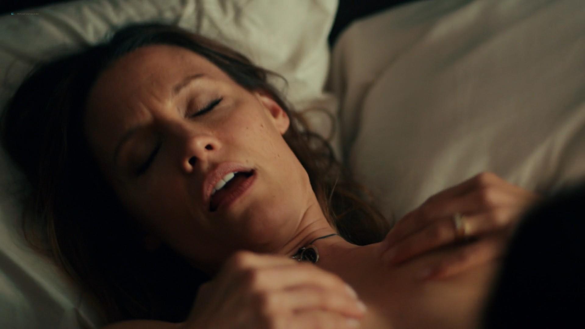 Emmanuelle Chriqui lesbian sex with KaDee Strickland nude topless - Shut Eye (2016) s1e1 1080p (7)