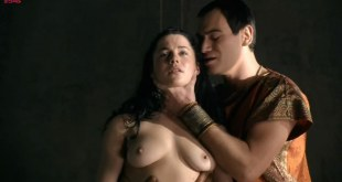 Jessica Grace Smith and Lesley-Ann Brandt all naked and hot sex - Spartacus GotA e03 HD720p