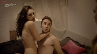 Lily James nude sex - Secret Diary of a Call Girl S4E4 hd720p