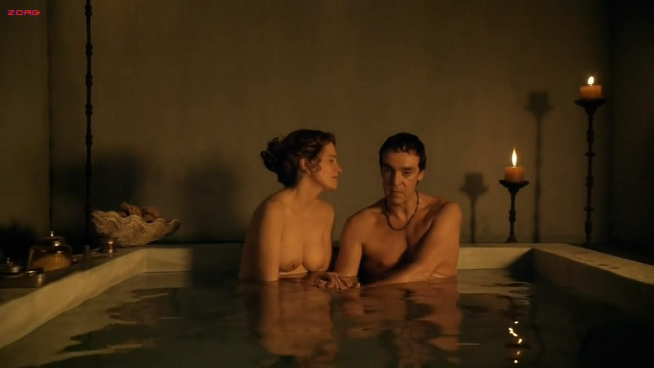 Lucy Lawless naked sex doggy style nude topless in the bath - Spartacus s1e5 hd720p