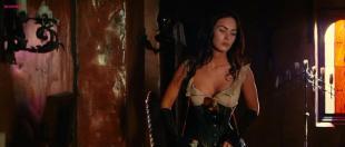 Megan Fox hot sexy huge cleavage and nipple peak - Jonah Hex  HD720p