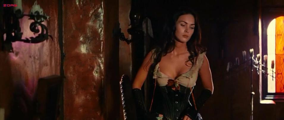 Megan Fox hot sexy huge cleavage and nipple peak - Jonah