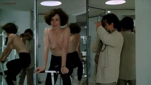 Sigourney Weaver nude topless and very hot - Half Moon Street (1986)