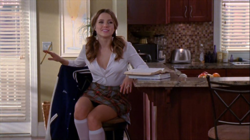 Sophia Bush hot sexy lingerie - One Tree Hill (2011) s08e15 HD 1080p (9)