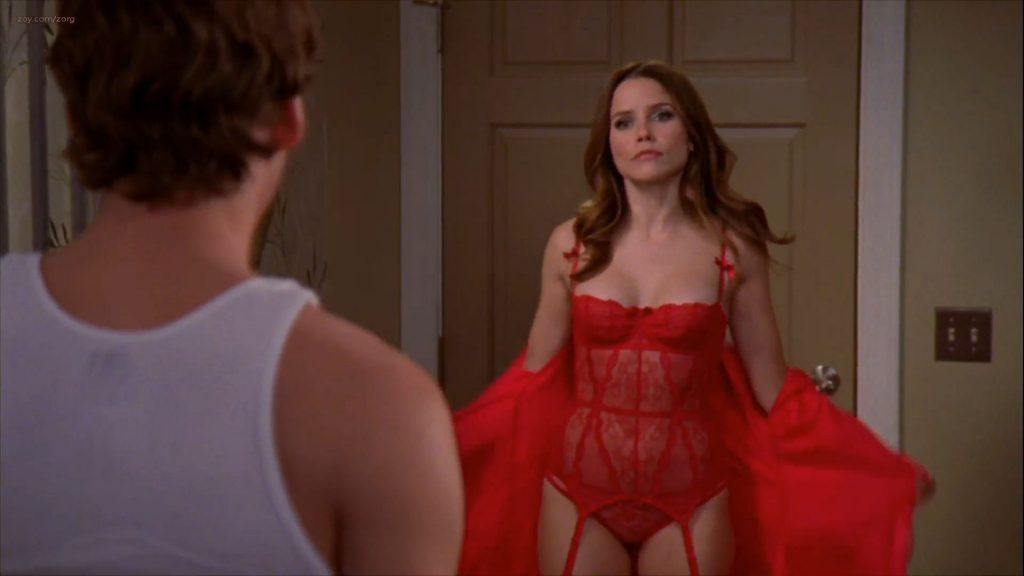 Sophia Bush hot sexy lingerie - One Tree Hill (2011) s08e15 HD 1080p (3)