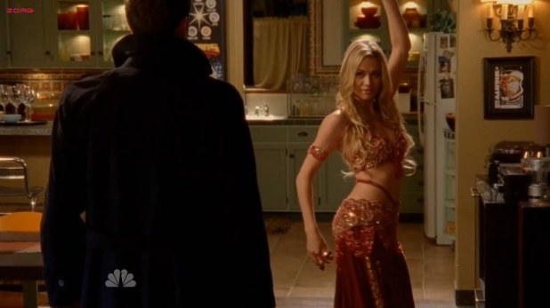 Yvonne Strahovski hot as erotic dancer - Chuck S04E14 HD720p