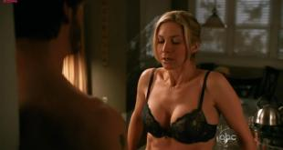 Elizabeth Mitchell hot sexy stripping to bra and making out - V s02e08 hd720p
