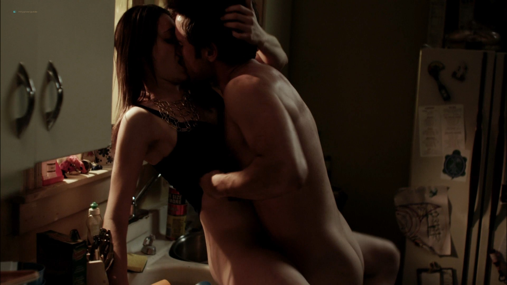 Emmy Rossum nude topless in Shameless (2011) - s1e1 HD 1080p BluRay (8)