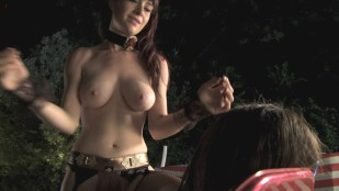 Christa Campbell nude topless Nicole Rae nude and others all nude  - 2001 Maniacs: Field of Screams hd1080p