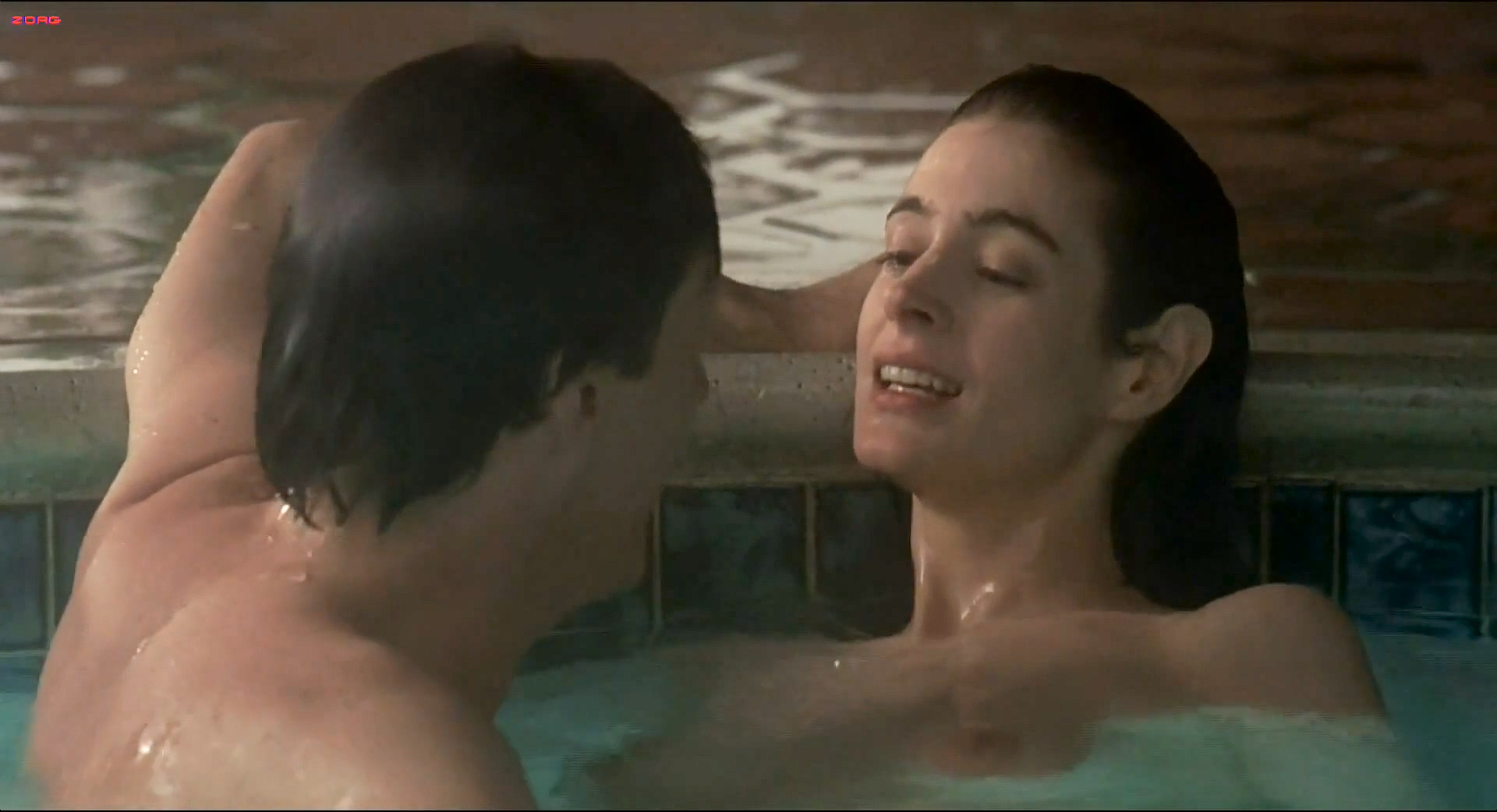 Sean Young nude butt, skinny dipping and sex in the pool - The Boost (1988) hd1080i (4)