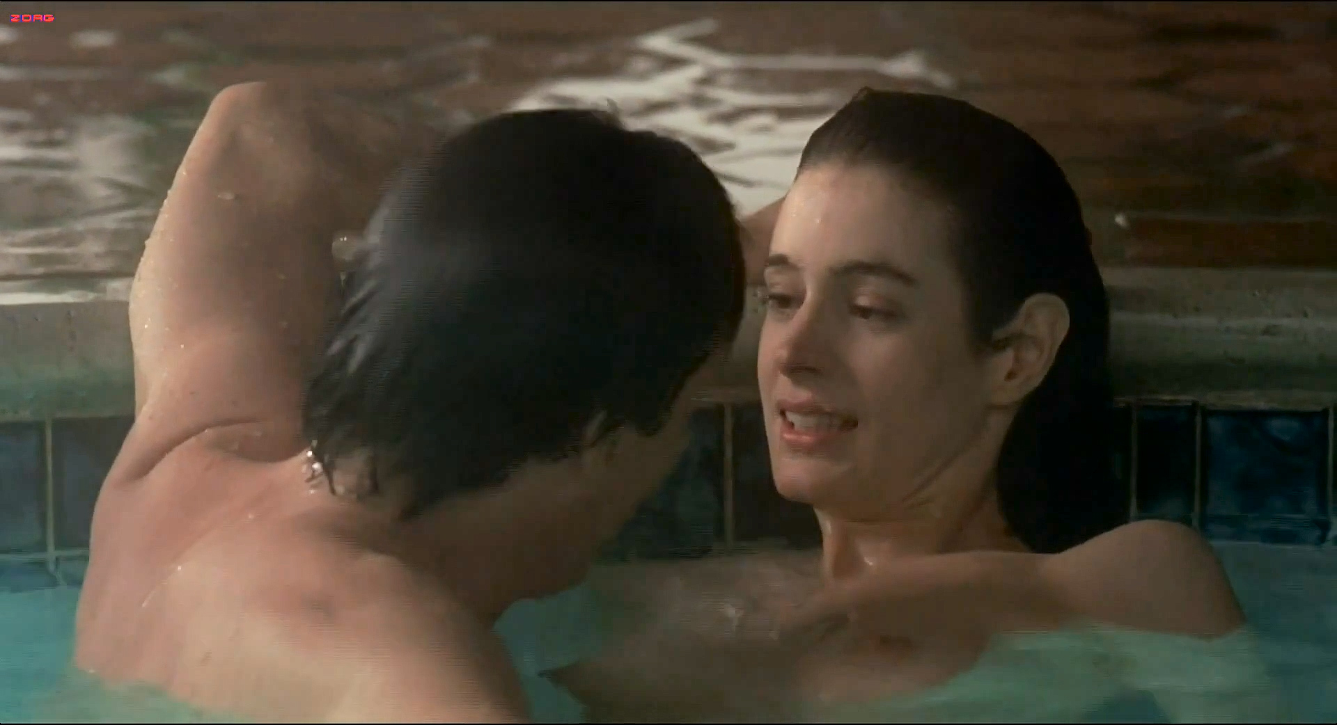 Sean Young nude butt, skinny dipping and sex in the pool - The Boost (1988) hd1080i (2)