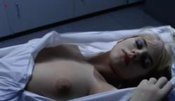 Katie Orgill nude topless and dead but hot in - Living Doll (1990)
