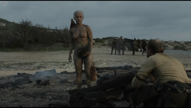 Emilia Clarke nude topless very hot in - Game of Thrones s01e10 hdtv1080p