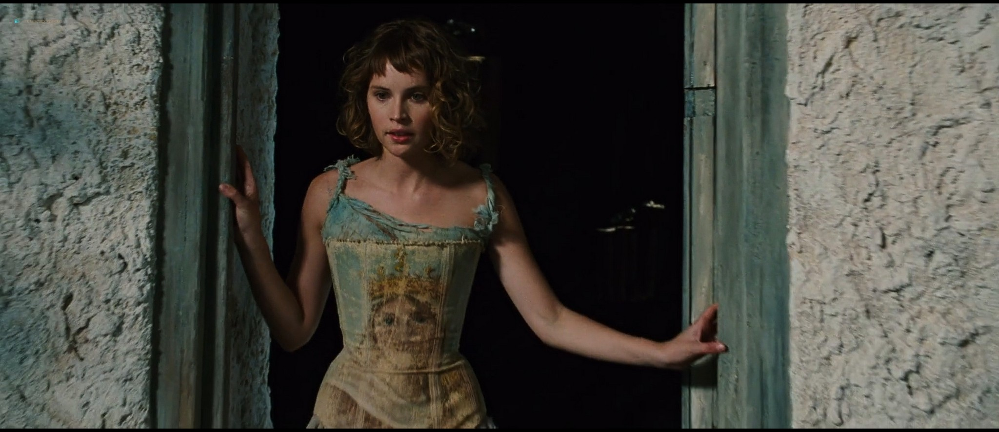 Felicity Jones hot and sexy - The Tempest (2010) HD 1080p BluRay (2)