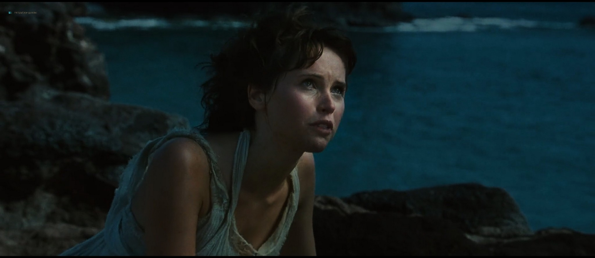 Felicity Jones hot and sexy - The Tempest (2010) HD 1080p BluRay (12)