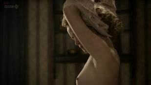 Claire Foy nude topless and lesbian kiss with Anna Wilson-Jones and Anna Maxwell nude full frontal - The Night Watch (2011) hd720p
