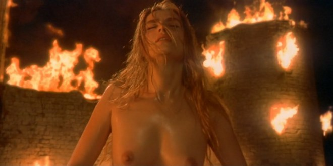 Emmanuelle Seigner nude topless in The Ninth Gate (1999) hd1080p