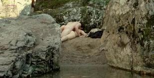 Isild Le Besco nude bush topless sex and nude skinny dipping - Au fond des bois (2010)