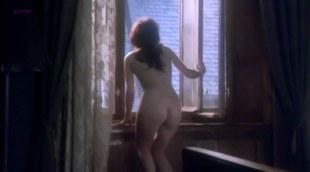 Adrianna Biedrzynska nude topless and butt naked in - Hanussen (1988)