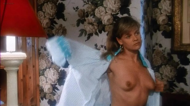 Karina Huff nude topless from Lucio Fulci's - Voices from Beyond (1991)