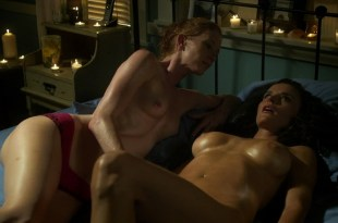 Ana Alexander and Jill Evyn all naked and nude sex in Chemistry s1e9 hd720p (9)