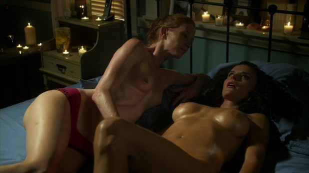 "Ana Alexander and Jill Evyn all naked, nude in ""Chemistry"" s1e9 hd720p"