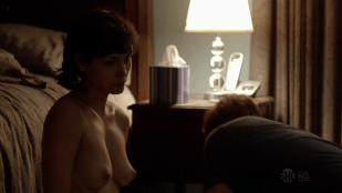 Morena Baccarin naked and nude topless after sex - Homeland S1E03 hd720p