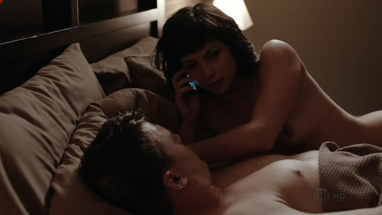 Morena baccarin naked on the bed and nude topless - Homeland s1e2 hd720p