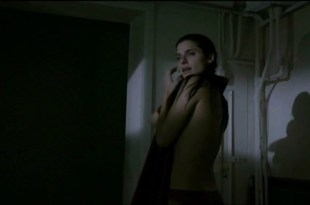 Lake Bell naked side boob and skinny dipping - Little Murder (2011)