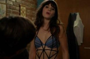 Zooey Deschanel sexy in bra and panties - New Girl s1e8 hd720p